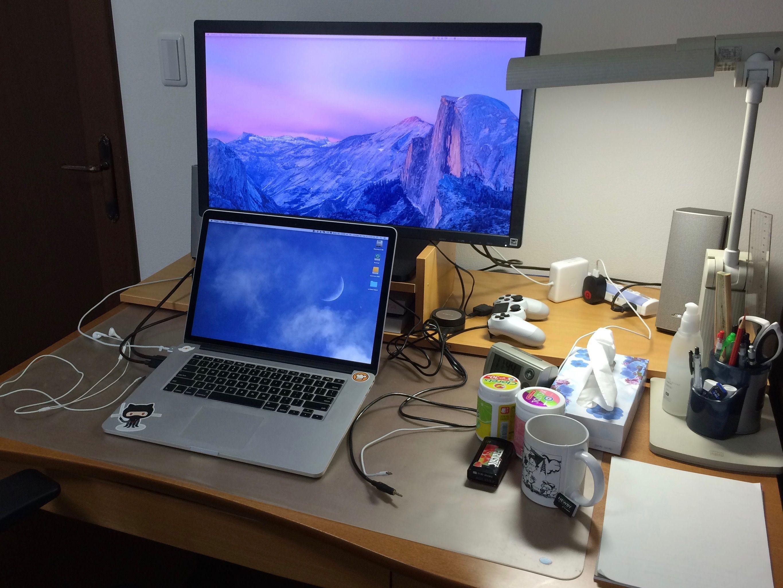 私の作業デスク環境